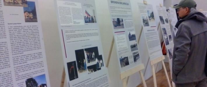 Razstava Gimnazije Ilirska Bistrica na strokovnem simpoziju ob 25. obletnici osamosvojitve Slovenije