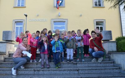 Obiskali so nas otroci Vrtca Jožefe Maslo Ilirska Bistrica