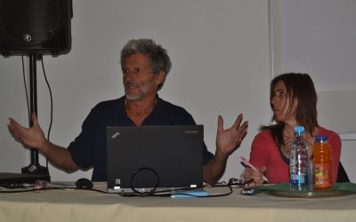 Obisk mednarodnih aktivistov in človekoljubov Toma Križnarja in Bojane Pivk Križnar na Gimnaziji Ilirska Bistrica