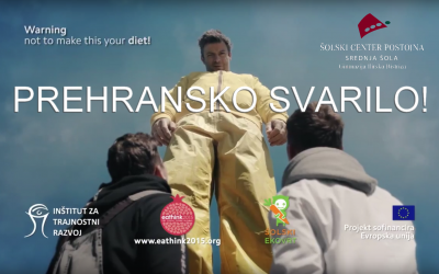 Video Gimnazije Ilirska Bistrica 3. v Evropi