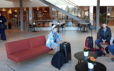 Dijaki Gimnazije Ilirska Bistrica na praktičnem usposabljanju z delom na Finskem