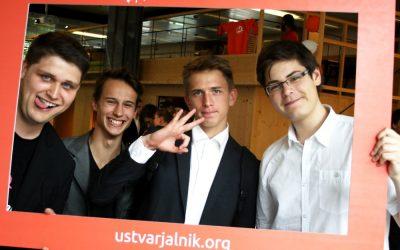 Gimnazija Ilirska Bistrica in ŠC Postojna tudi letos z dvema ekipama med 6 najboljšimi srednješolskimi podjetniki