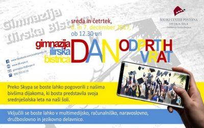 Dan odprtih vrat Gimnazije Ilirska Bistrica