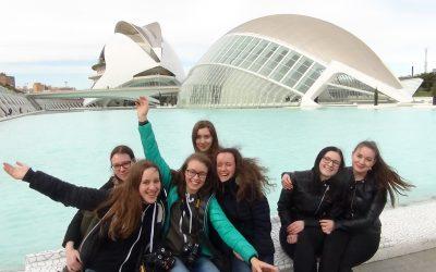 Dijakinje španščine v Valenciji