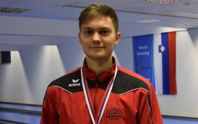 Žiga Požar, mladinski državni prvak v kegljanju