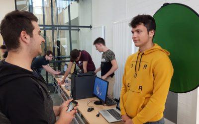 Izdelki dijakov Gimnazije Ilirska Bistrica na Dnevu inovativnosti 2018