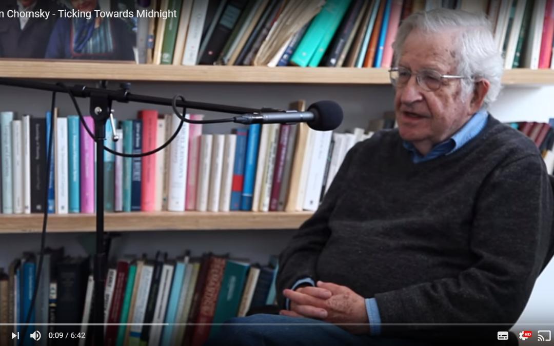 Noam Chomsky: Tik pred polnočjo