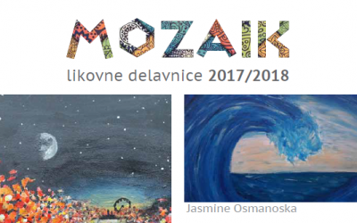 Mozaik – likovne delavnice 2017/2018