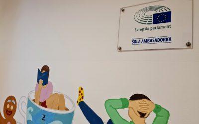 Gimnazija Ilirska Bistrica je Šola ambasadorka Evropskega parlamenta